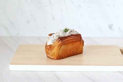 Mushroom Truffle Cream Danish