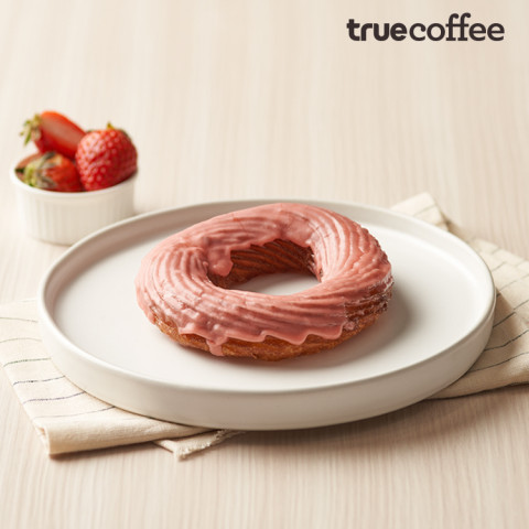 Strawberry French Cruller