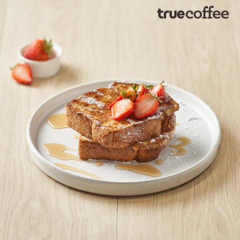 Maple Strawberry French Toast