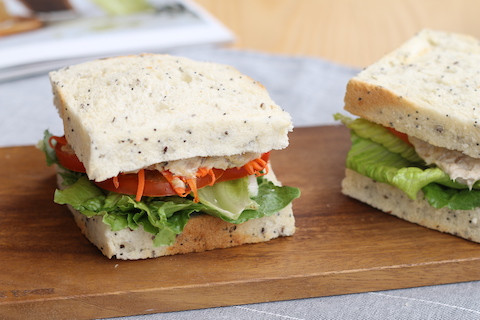 Tuna Cereal Sandwich