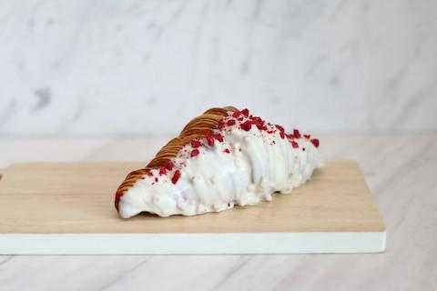White Chocolate Raspberry Croissant