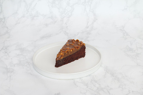 Hazelnut Toffy Cake