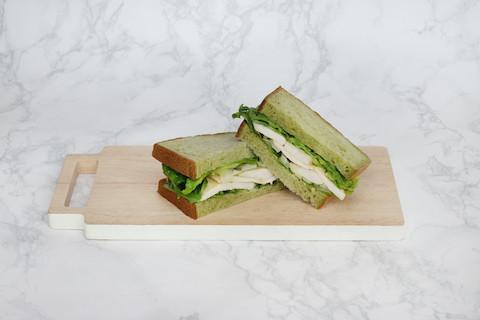 Spinach Sandwich Benja Chicken & Honey Mustard