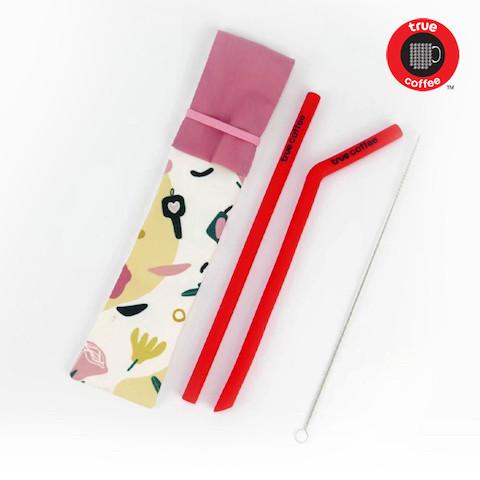 Red Straw (9mm)
