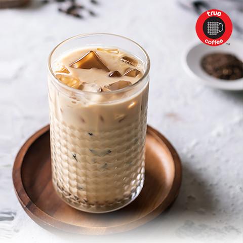 Iced Black Tea Latte